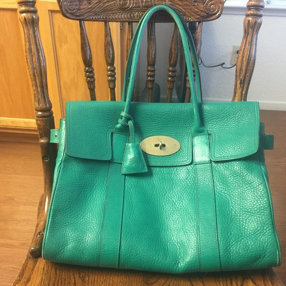 ac677d6761 Mulberry Bags | Beautiful Bayswater Kelly Green Satchel | Poshmark